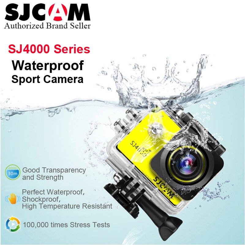 Original SJCAM SJ4000/SJ4000AIR/SJ4000 WIFI 1080 P 2.0 LCD Full HD action caméra Sport étanche caméra Sport DV