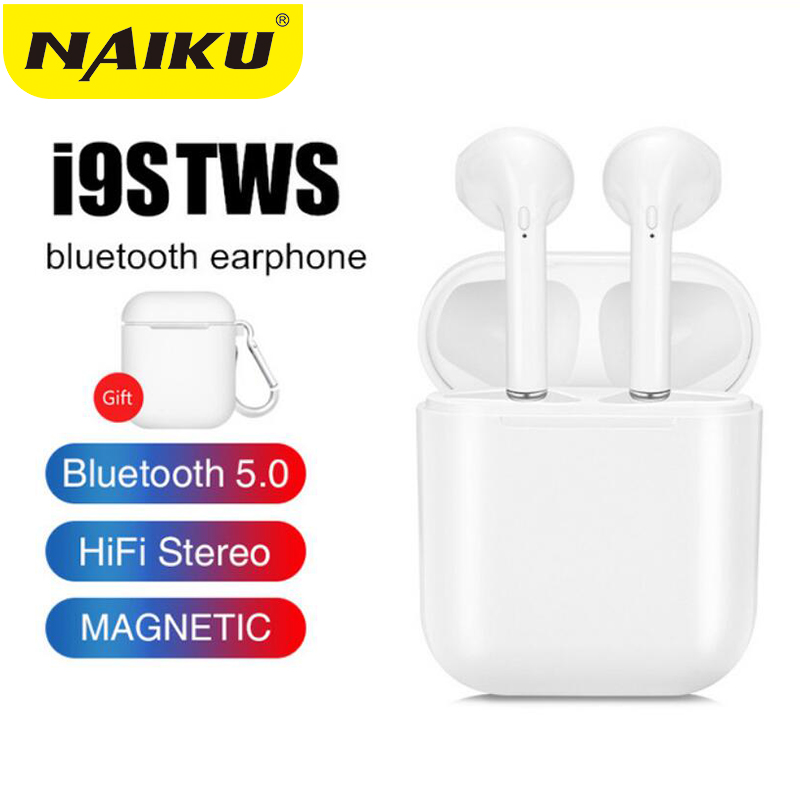 I9s I7s Tws Earphones Wireless Bluetooth Earphones Wireless Headsets Earbuds Bluetooth 5.0 Earpieces For Xiaomi IPhone Earphones