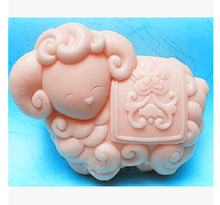 Sell hot Zodiac sheep modelling silicon soap mold Cake decoration Handmade No.S406-1