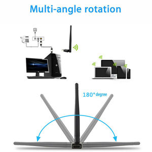 Image 2 - Dual Band 600Mbps 5Ghz 2.4Ghz USB WiFi Antenna Dongle Wireless LAN Adapter 802.11ac/a/b/g/n5/2.4Ghz For Windows Desktop/Laptop
