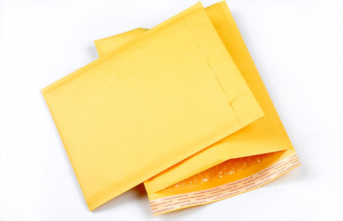 Office & School Supplies Straightforward 10pcs Kraft Paper Bubble Envelopes Gifts Package Mailers 90x130mm To Have Both The Quality Of Tenacity And Hardness Mail & Shipping Supplies