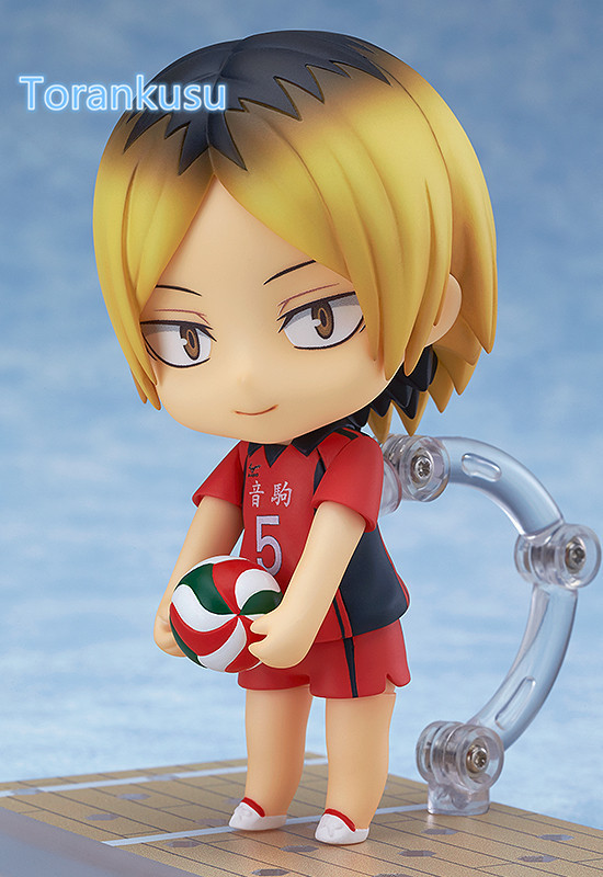 Haikyuu Action Figure Kozume Kenma Nendoroid 605# 10CMM Haikyuu Nendoroid kozumekenma Model Toy Doll Volleyball Figure