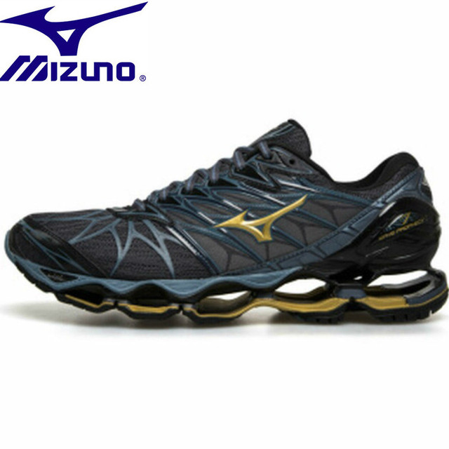 ca7b93b0697 Mizuno Wave Prophecy 6 Professional Men Shoes Outdoor Running Shoes Mesh Sneakers  Men Weight Lifting Shoes