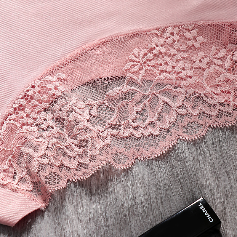 Sexy Panties Underwear Women Seamless Lace Ice Silk Panties Sexy Underpants Cute Lingerie Cotton Briefs Bikini Panty For Girls 3