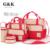 2016 Hi-q impermeable 5 Unids/set Nylon pañal del bebé bolsos oblicuamente bolso de Múltiples funciones de gran capacidad de La Momia del bebé bolsas de pañales mochila