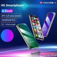 Free Case Screen Protector 3GB Ram 32GB Rom Android 8.1 Mini 4G SmartPhone K TOUCH I9 Face ID Metal Cell Dual SIM Mobile Phone