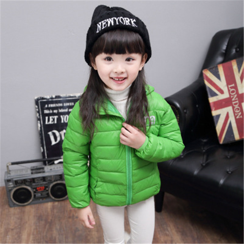 Winter Children Parkas Jackets for Girl's Outerwear Boys Casual Warm Hooded Cotton Jacket for  Solid Boys Girl's for Warm Coats casual 2016 winter jacket for boys warm jackets coats outerwears thick hooded down cotton jackets for children boy winter parkas