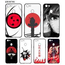 Black Silicon Soft Phone Case Hokage Naruto Kakashi For OPPO F5 F7 F9 A5 A7 R9S R15 R17 Bag