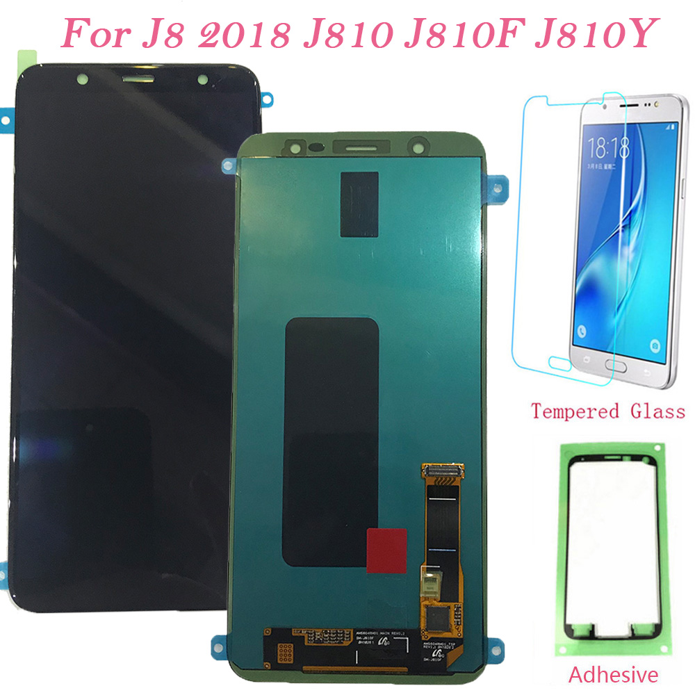 Test LCD Screen For Samsung Galaxy J8 2018 J810F Touch Screen Digitizer LCD Display For Samsung J810 J810F/DS AMOLED Assembly J8Test LCD Screen For Samsung Galaxy J8 2018 J810F Touch Screen Digitizer LCD Display For Samsung J810 J810F/DS AMOLED Assembly J8