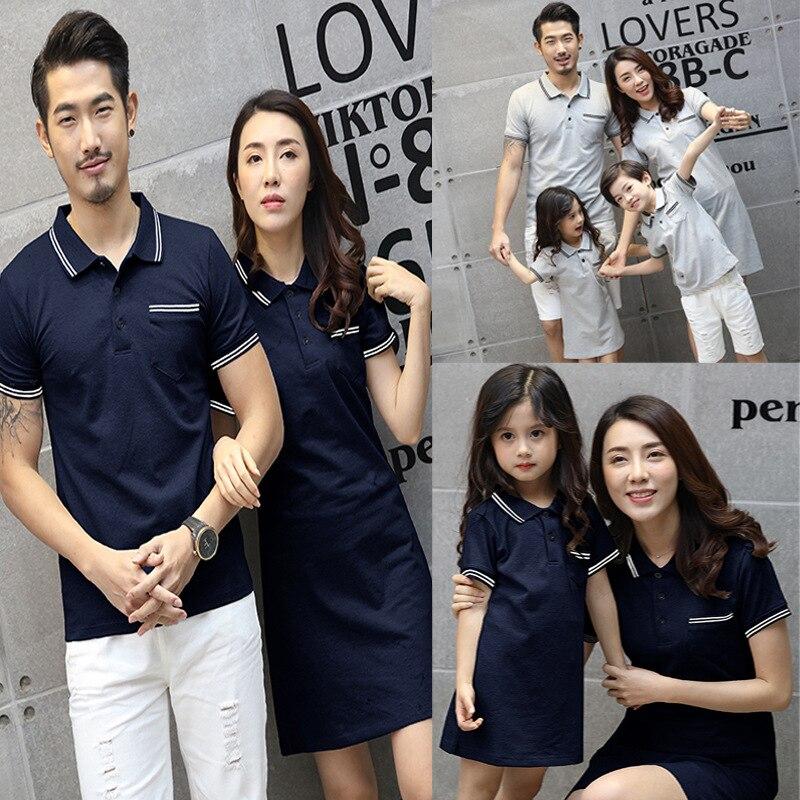 9c2b04876e63b94 Одинаковые комплекты для семьи, летние платья для мамы и дочки, рубашки для  мальчиков,