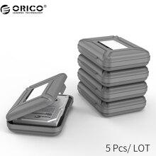 ORICO PHX-5S 5 Bay 3.5 дюймов Защитная Коробка/Случай для Хранения Жесткий Диск (HDD) или SDD с Водонепроницаемым Функции-5 ШТ./ЛОТ