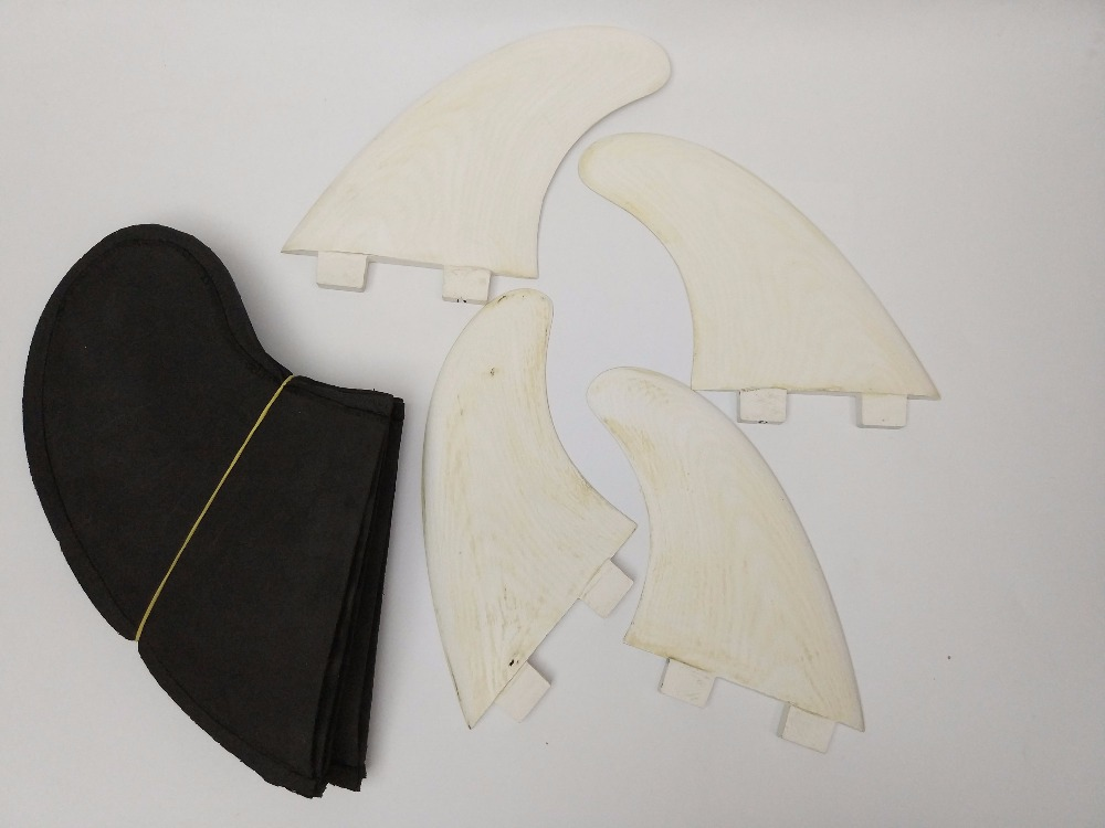 Tri fin set Sanded Fiberglass Future G5 FCS G5 G3 FIN Surf Future fiberglass fin Quad Fin clearance sale in Surfing from Sports Entertainment