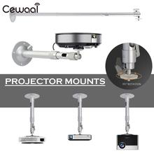 Projector Mount Durable Projector Hanger with Lengthening Rod LCD Projector Office Wall Support Home Theater