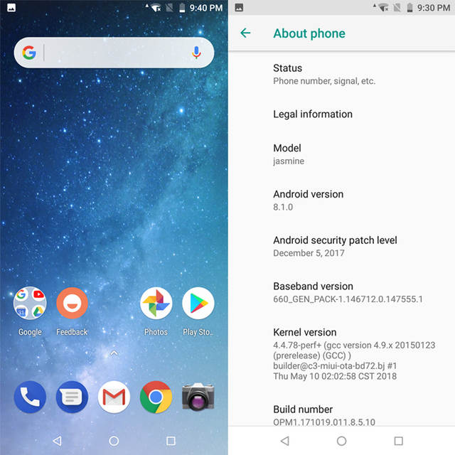 Global Version Xiaomi Mi A2 5 99 Inch 18:9 Full Screen 4GB 64GB Snapdragon  660 AIE 20MP+12MP Dual Camera Android One Smartphone