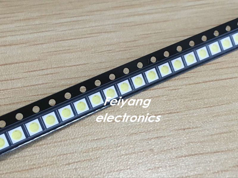 Back To Search Resultselectronic Components & Supplies Search For Flights 200pcs For Sharp Led Backlight High Power Led 0.8w 2828 6v Cool White 43lm Gm2cc3zh2eem Tv Application Active Components