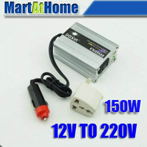 цена на NEW 150W DC 12V to AC 220V POWER INVERTER USB Modified-sine Wave for Mobile Car TV DC #10188 @CF