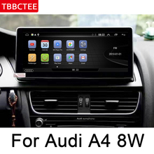 For Audi A4 8W 2016~2019 MMI Car Multimedia Player Android Radio GPS original style Navigation WiFi BT 4G 3G network car android radio gps multimedia player for audi a4 8w 2016 2019 mmi original style navigation wifi bt 4g 3g network