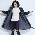 2017 Women Fleece Jacket Camouflage Coats Thick Parkas Plus Size Long Sleeve Hooded Outwear Casual Loose Jacket Warm Coats B128