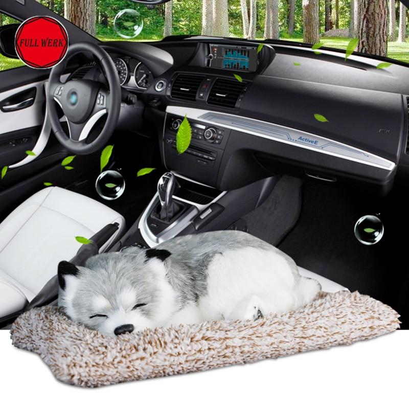 1 шт. стайлинга автомобилей собака орнамент бамбуковый уголь очистки воздуха коврик для Тесла модель S X активированный уголь Очистки Аксесс...