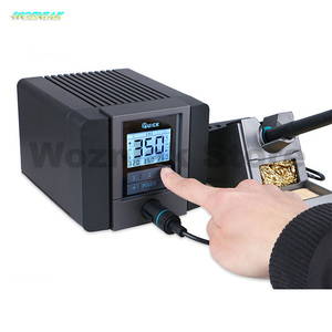 Image 3 - QUICK TS1200A Best Quality lead free soldering station electric iron 120W anti static soldering 8 second fast heating Welding