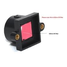 2 шт. M12 держатель с 650nm ИК фильтр M12 объектив 20 мм расстояние отверстия для камеры видеонаблюдения