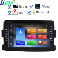 Auto Stereo Radio FOR RENAULT DUSTER Android 6 0 Car DVD Player Octa Core 8Core 2G