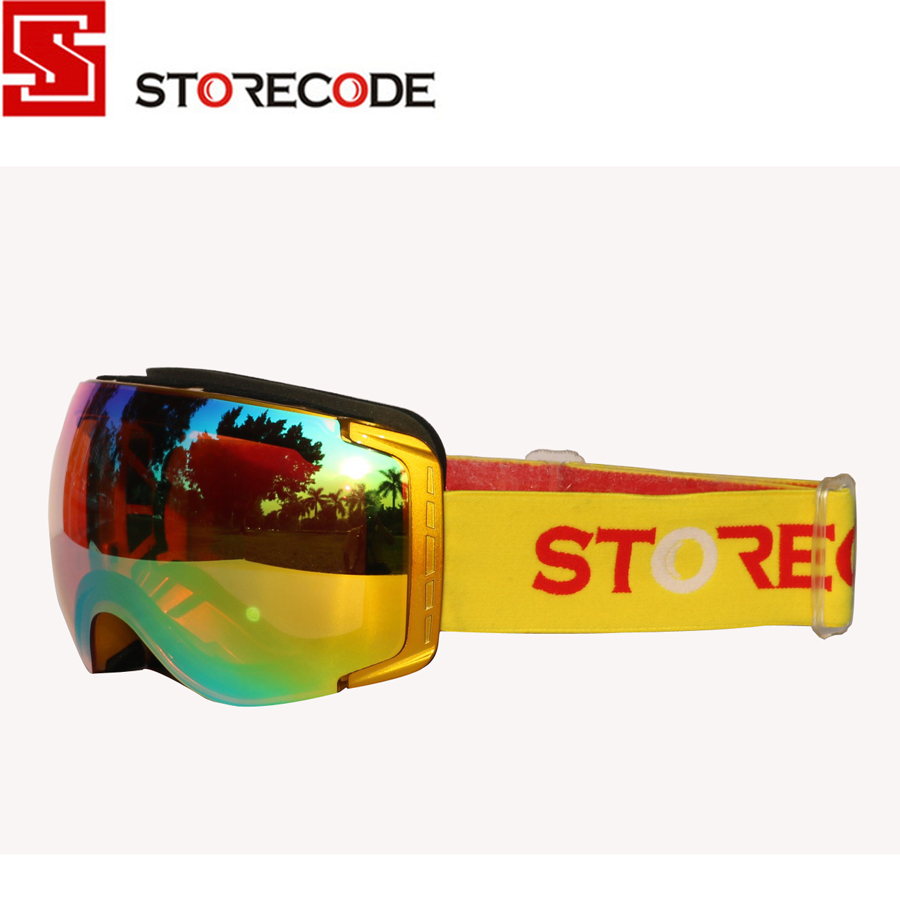 Discount StoreCode Brand Ski Goggles Double Lens Anti-Fog Anti-Scratch UV Protection WH658