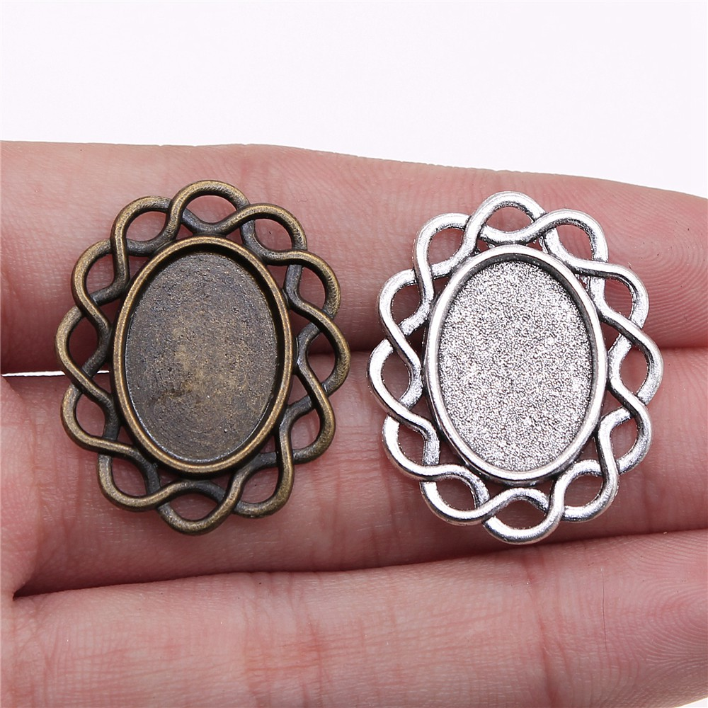 25 30 Bing Website: 10pcs 13x18mm Inner Size 30x25mm Outer Size Vintage
