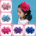 2015 New 10pcs Set Hair Bow Clips Princess Hairpins Boutique Hair Bow for Baby Girls Newborn Infants  Children Hair Accessories