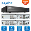SANNCE 4 Channel 8 Channel AHD DVR AHDM 720P 960H Security CCTV DVR 4CH 8CH Mini