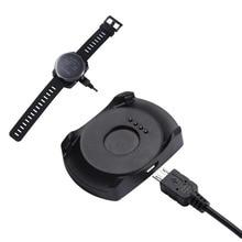 Adaptador carregador doca usb cabo de carregamento suporte dados cabo para xiaomi huami smartwatch amazfit 2 stratos 2 s esporte relógio inteligente a1609
