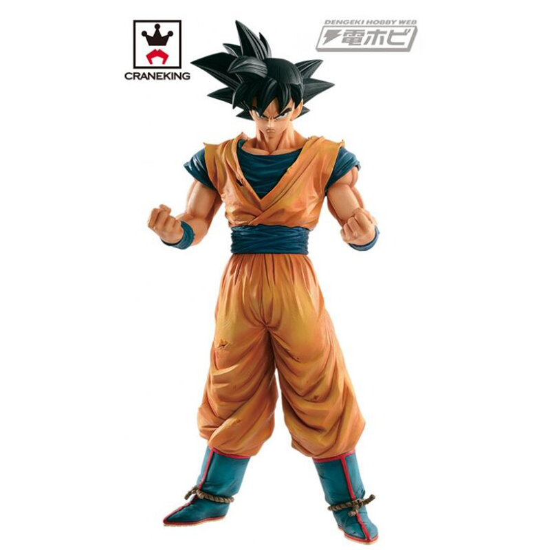 28cm Original Banpresto Dragon Ball Z Figurine Grandista ROS Son Goku resolution of soldiers Gokou Action figure toy [pcmos] anime dragon ball z ros resolution of soldiers awaken son gokou 57 pvc figure 15cm 6in toys collection no box 5932 l