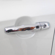 Free Shipping High Quality ABS Chrome Door Handles Cover Door Handles Protect Door Handle Bowl Cover For 2016 Suzuki vitara цена