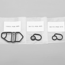 15825-P08-005 36172-P08-005 36172-P08-015 Solenoid Valve Filter Gasket Upper Fit For Honda Civic DEL SOL Auto Accessory high quality 28260 rpc 004 transmission dual linear solenoid for honda civic fit 07 08