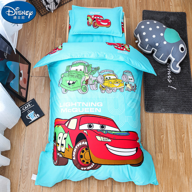 Children  100%Cotton Bedding Sets cot Soft kindergarten Car Cartoon duvet cover pillowcase  Mat cover Quilt Cover 60x120cm cotChildren  100%Cotton Bedding Sets cot Soft kindergarten Car Cartoon duvet cover pillowcase  Mat cover Quilt Cover 60x120cm cot