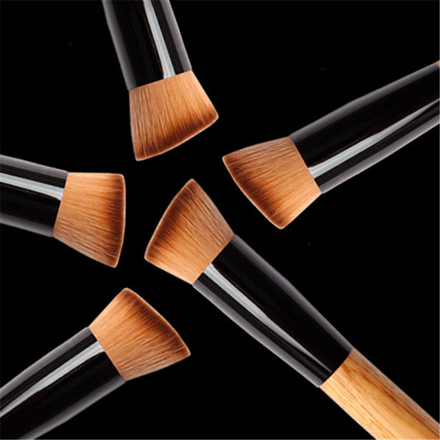 Professional Concealer Foundation Brushes Makeup Brush Nature Contour BB & CC Cream Base Powder Brushes Face Shadow Brush Tools 5