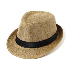 Summer fashion Panama Straw  Men women Sun Hats Mesh Beach Folding Bucket