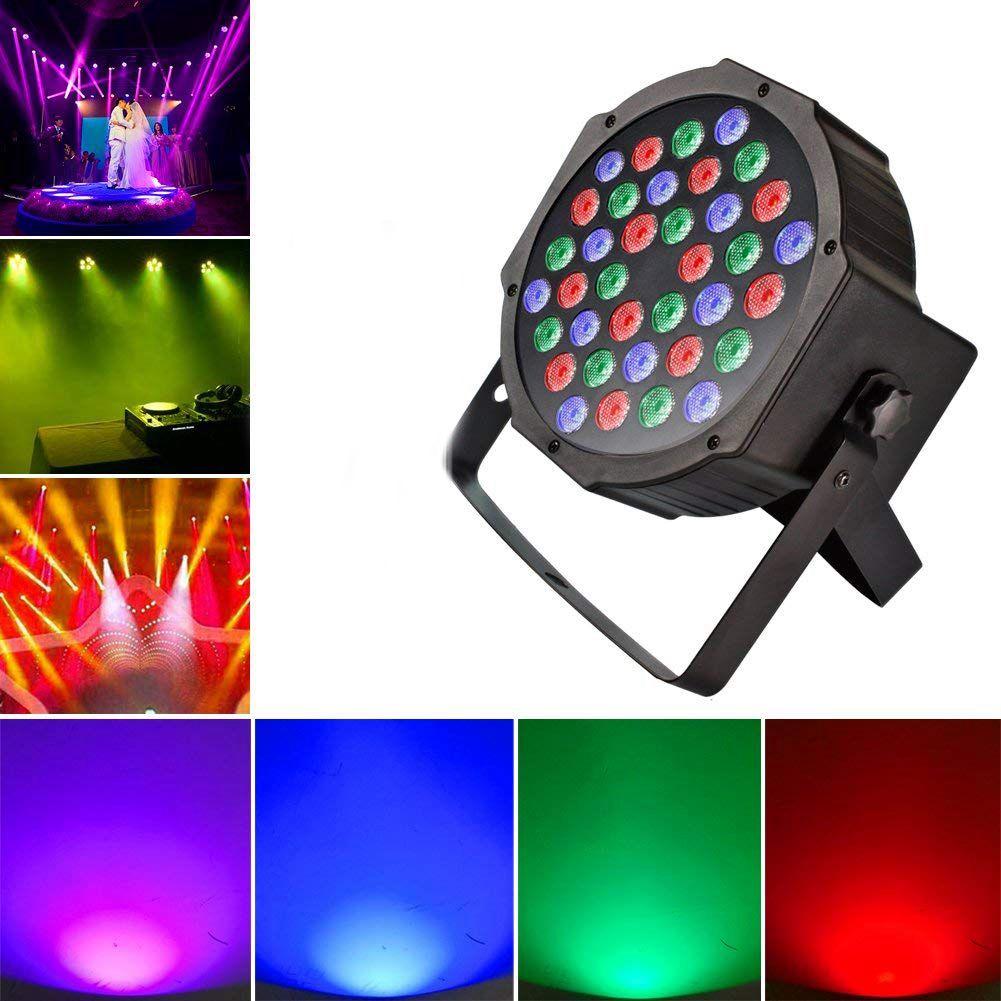 DJ Up освещение мыть свет с RGB-36 светодиоды сценический свет управление led DMX управление-лучший для караоке клуб диско бар свадебное шоу (США Pl