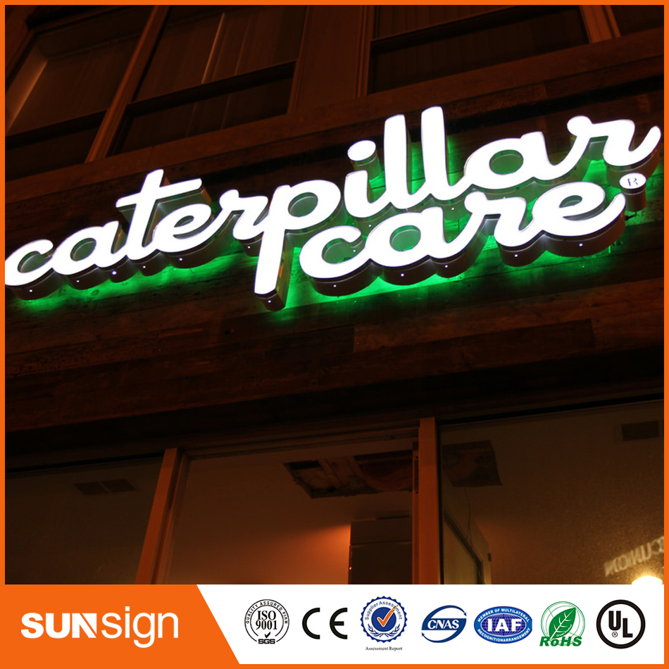 Customized Waterproof 3d Led Frontlit Channel Letter