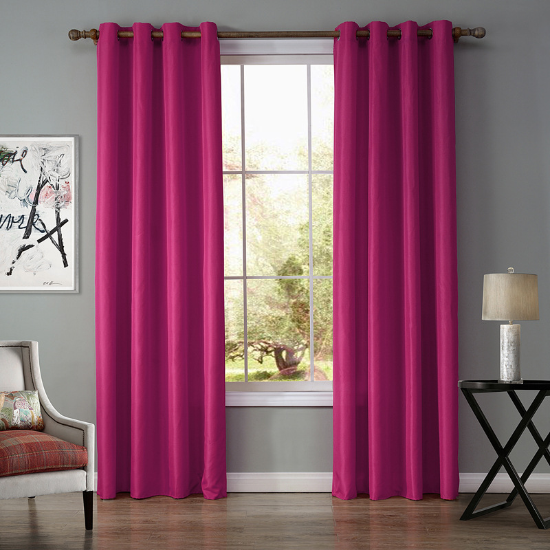 Sunnyrain 1 piece oxford semi blackout curtain for living for M s living room curtains