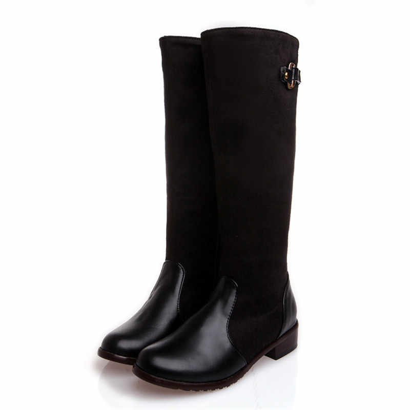 Asumer 2020 yeni boyutu 34-47 diz yüksek çizmeler kadın moda uzun çizme kış ayakkabı düğün ayakkabı seksi kış motosiklet botları