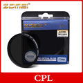 ZOMEI CIR-PL Digital Circular Polarizer Polarizing Lens Filter CPL For canon nikon sony lens