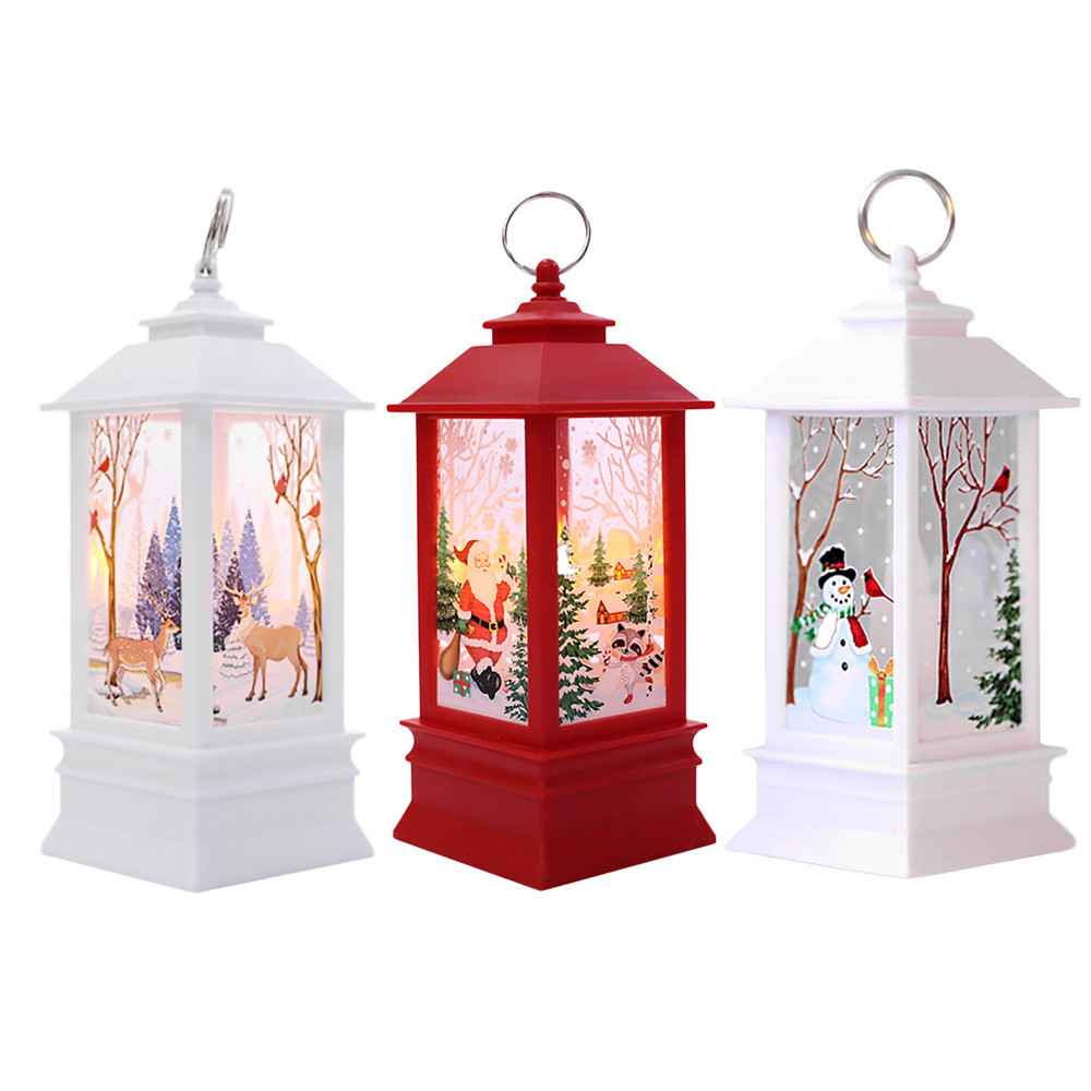 Home Decoration 2019: 2019 New 1Set Christmas Candle With LED Tea Light Candles