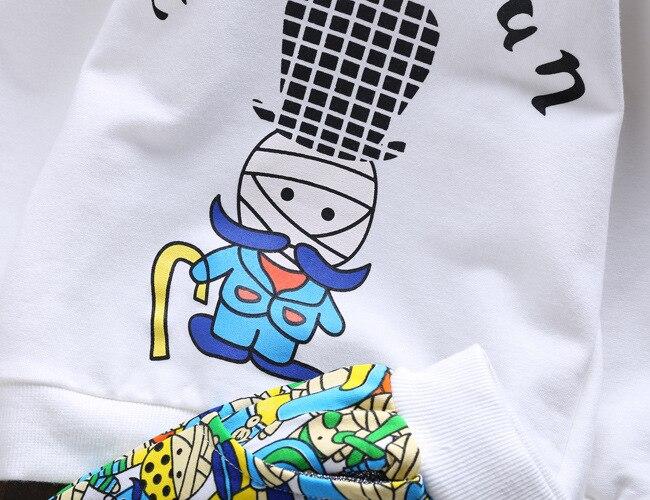 New Spring  Baby Clothing Sets Children Boys Girls Kids  Suits Tracksuits Cotton Long Sleeve Shirt + Pants 2pcs Pakistan