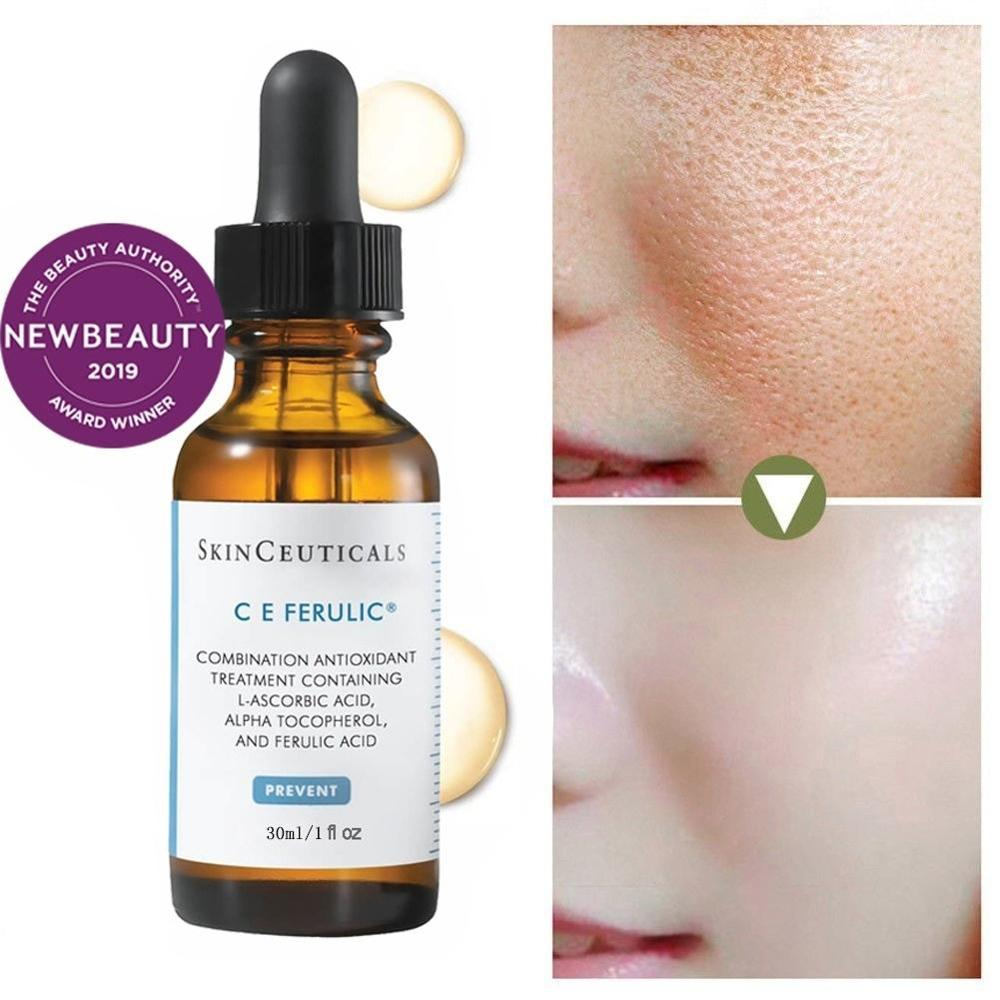 ZHENDUO Vitamin CE Antioxidant Anti-Aging Face Repair Serum Freckle Essence Whitening Brightens Skin Complexion Skin Care