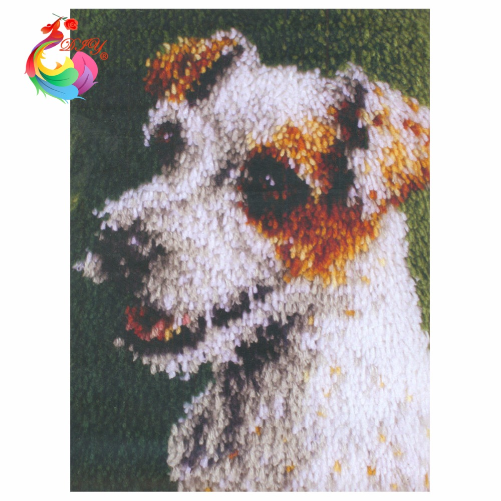 Rug Dogs Embroidery Designs: Threads For Embroidery Cute Dog Cross Stitch Carpet