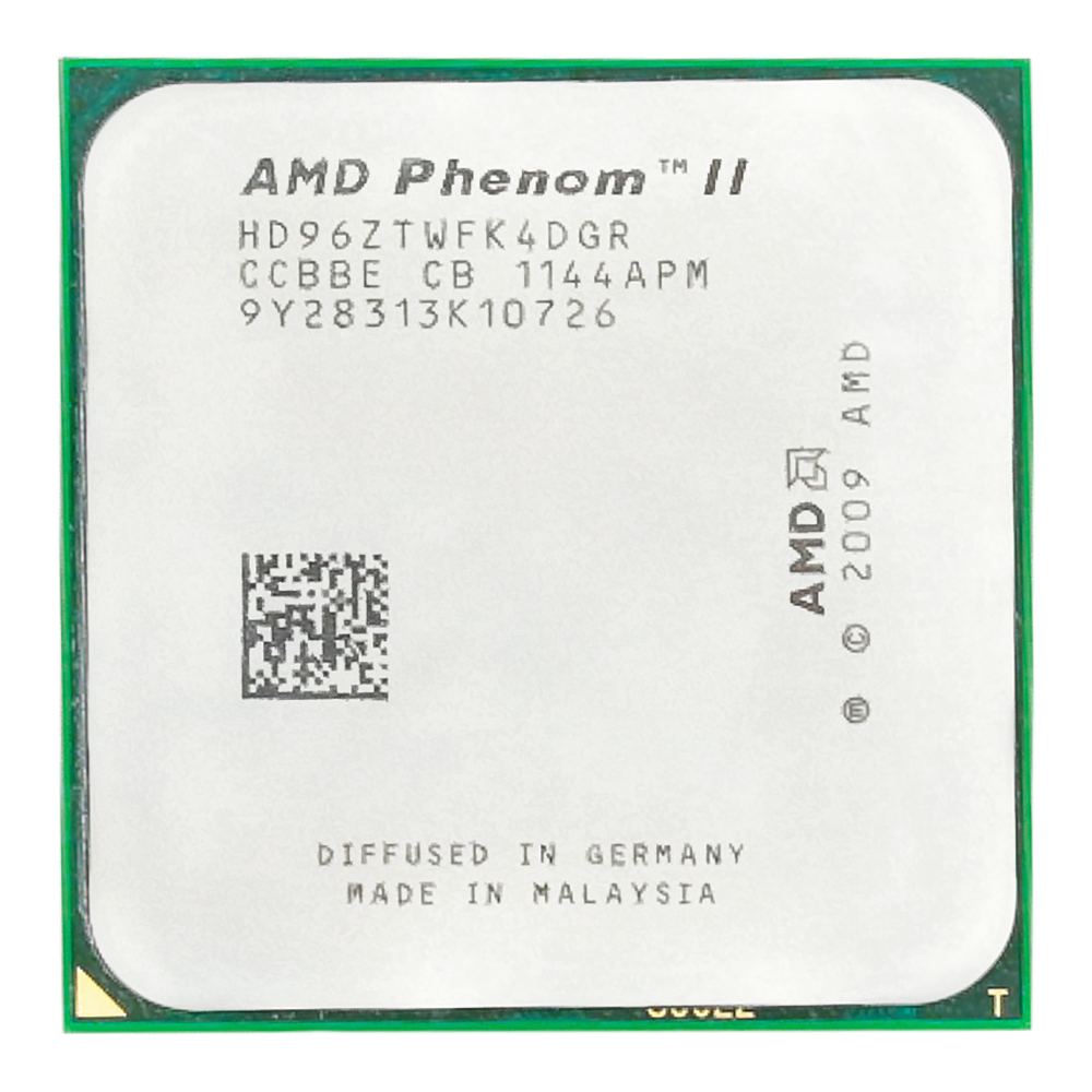 <font><b>AMD</b></font> Phenom II X4 960T <font><b>CPU</b></font> Processor Quad-Core 3.0Ghz/ 6M /95W Socket <font><b>AM3</b></font> AM2+ image