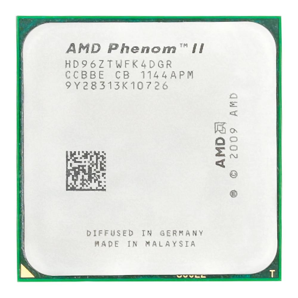AMD Phenom II X4 960T CPU Processor Quad-Core 3.0Ghz/ 6M /95W Socket AM3 AM2+