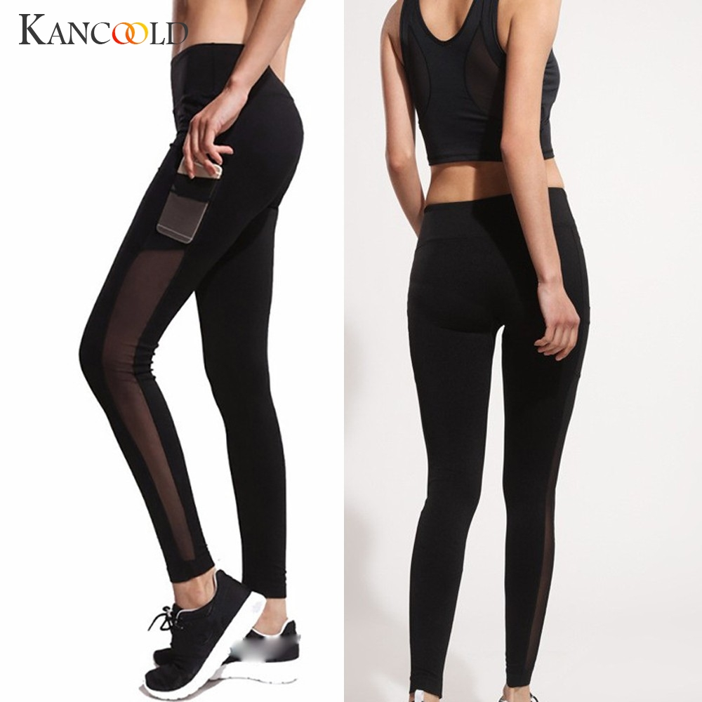 KANCOOLD Pants   Leggings   Women's Fashion Workout   Leggings   Fitness Sports Running Athletic Solid sexy new pants woman 2019JAN9