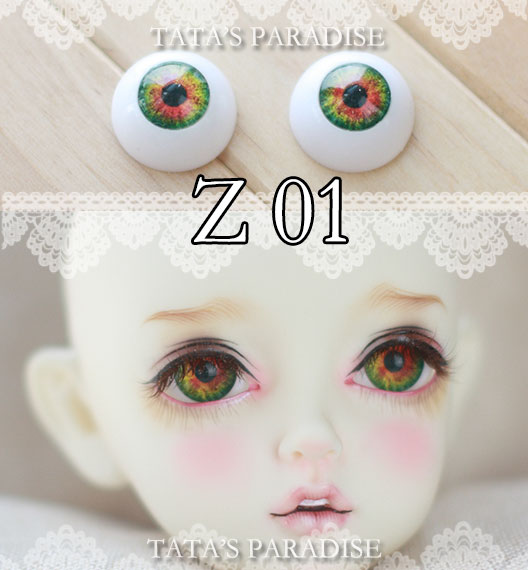 BJD eyes12mm 14mm 16mm 18mm 1 Pair of Eyes Eyeballs Doll Accessories Doll Eyeballs Z01